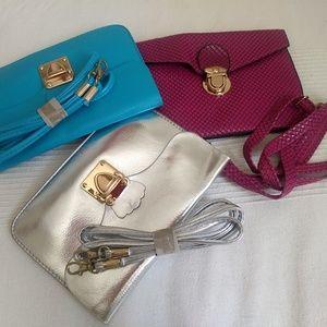 none Bags - Small silver purse